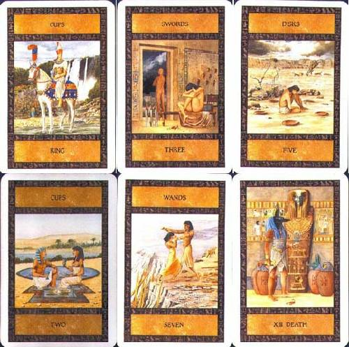 (Ancient Egyptian Tarot) Tarot do Antigo Egipto